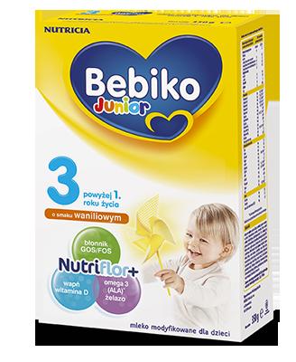 Bebiko Junior 3 o smaku waniliowym