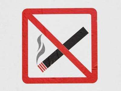 Trujący dym z papierosa