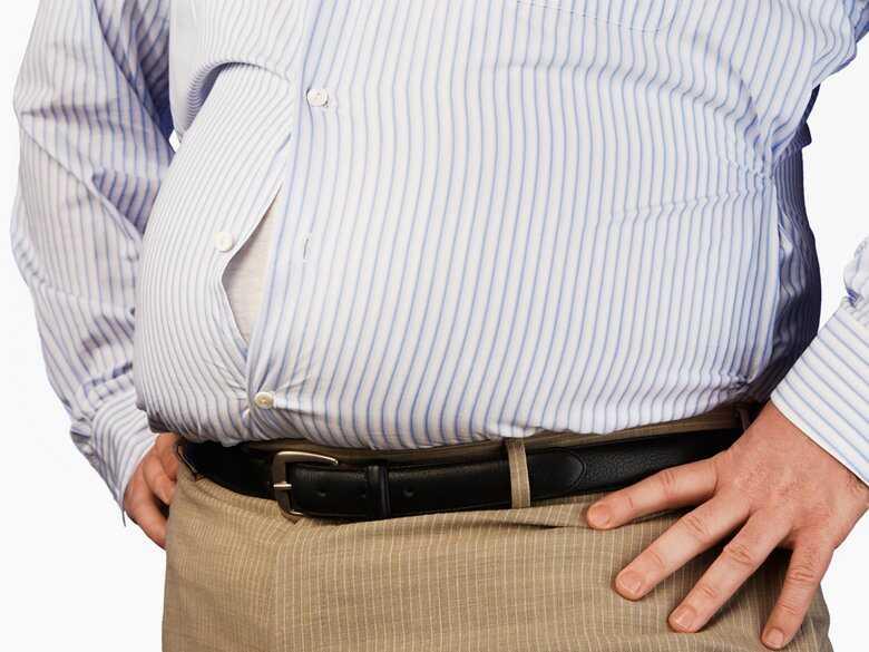 Nadwaga u mężczyzn