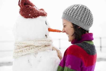 Chroń twarz przed chłodem