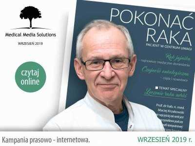 """""""Pokonać raka – pacjent w centrum uwagi"""" to już 11. edycja edukacyjnej publikacji skierowanej do pacjentów i ich rodzin."""