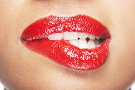 Czerwone usta