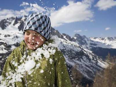 Zimowy ubiór służący zdrowiu