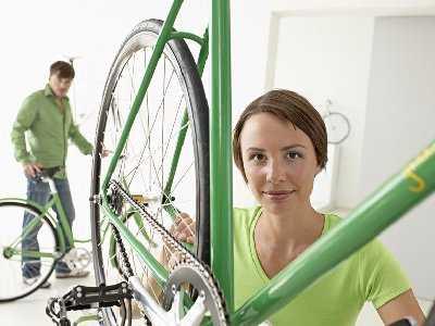 Wiosenne aktywności ruchowe - krótkowidz na rowerze