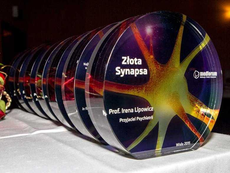 Złota Synapsa - prestiżowa nagroda przyznawana w dziedzinie psychiatrii