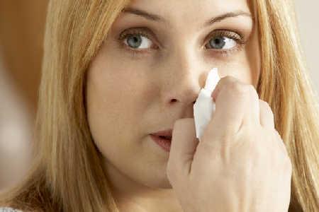 Krwawienia z nosa w ciąży