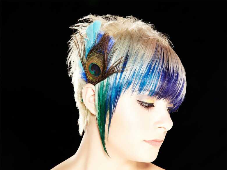 Kolorowe włosy