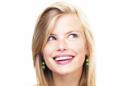 Kobieta, uśmiech