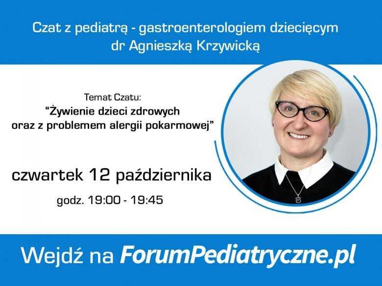 Czat z pediatrą - alergologiem w czwartek 16.03.2017 o godzinie 18:45