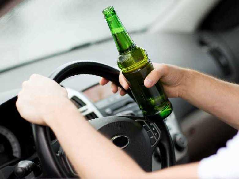 Kierowca pod wpływem alkoholu