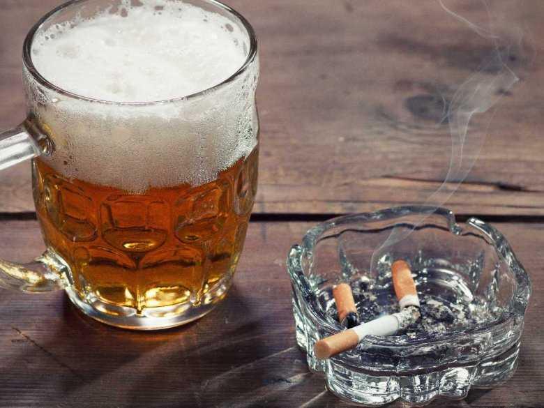 Mechanizm komórkowy współwystępowania uzależnienia od alkoholu i nikotyny