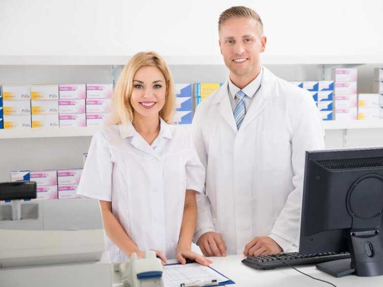 Farmaceuci, Apteka