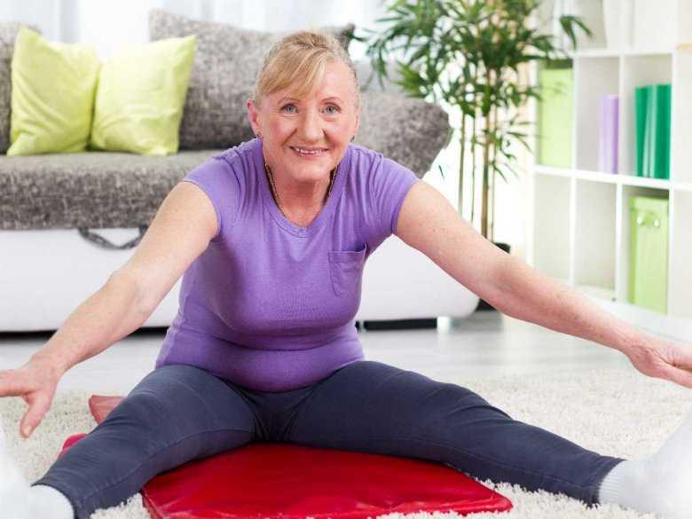 Aktywny tryb życia u osób starszych