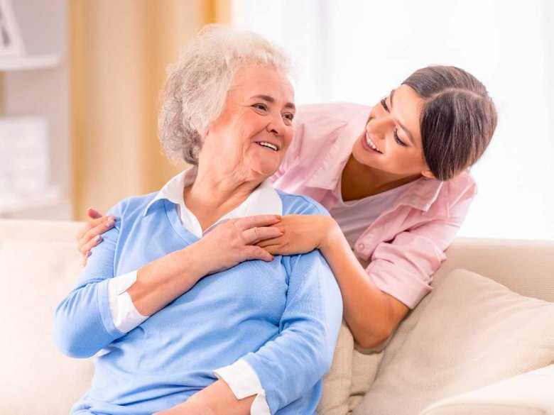 Pomoc starszej Pani