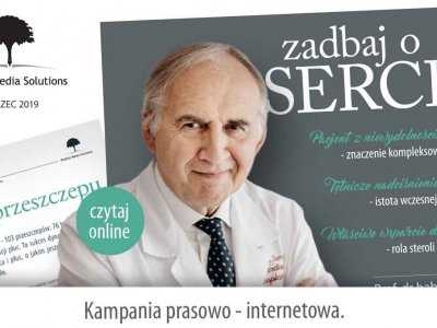"Startuje ogólnopolska kampania prasowo-internetowa ""Zadbaj o serce"""