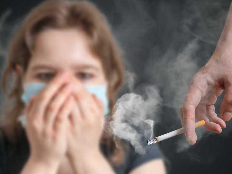 Skutki biernego palenia u dzieci