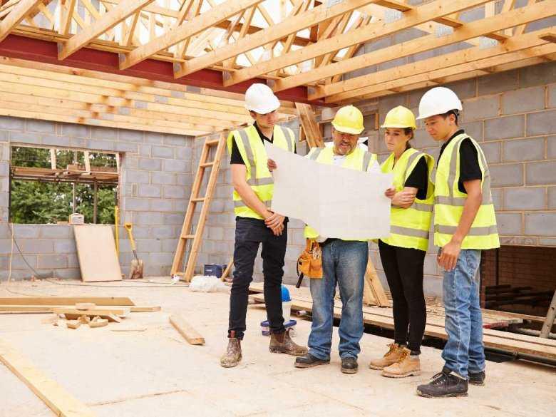 Budowa domu, zespół ekspertów