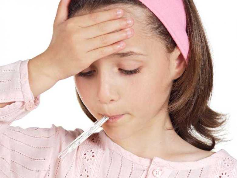 Gorączka u malucha