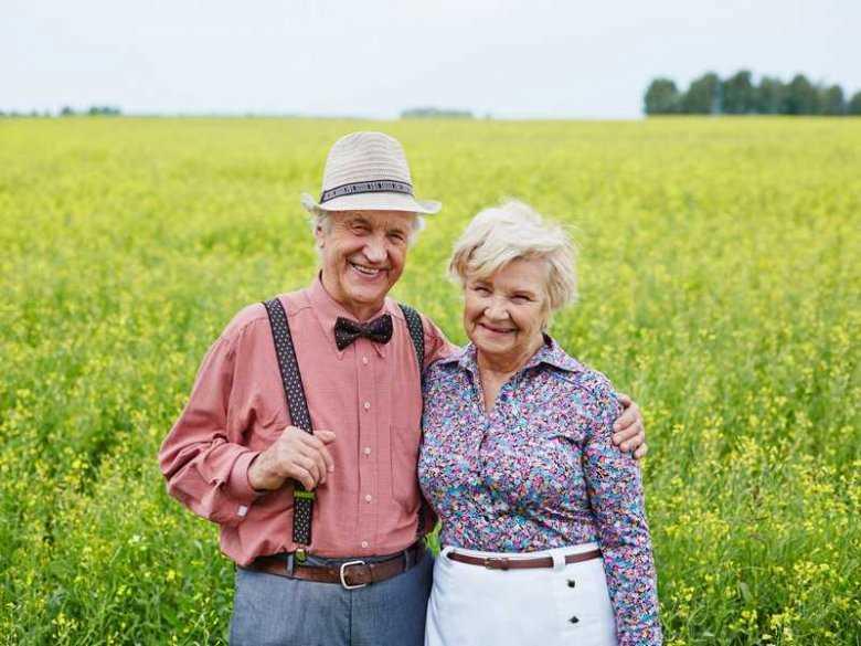 Łysienie osób starszych