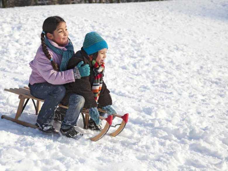 Rodzinna pielęgnacja skóry zimą na wesoło