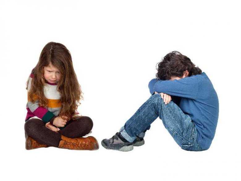 Uczucia złości i smutku u dzieci