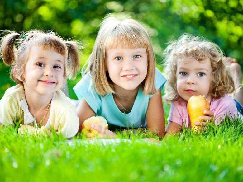 Dzieci na pikniku