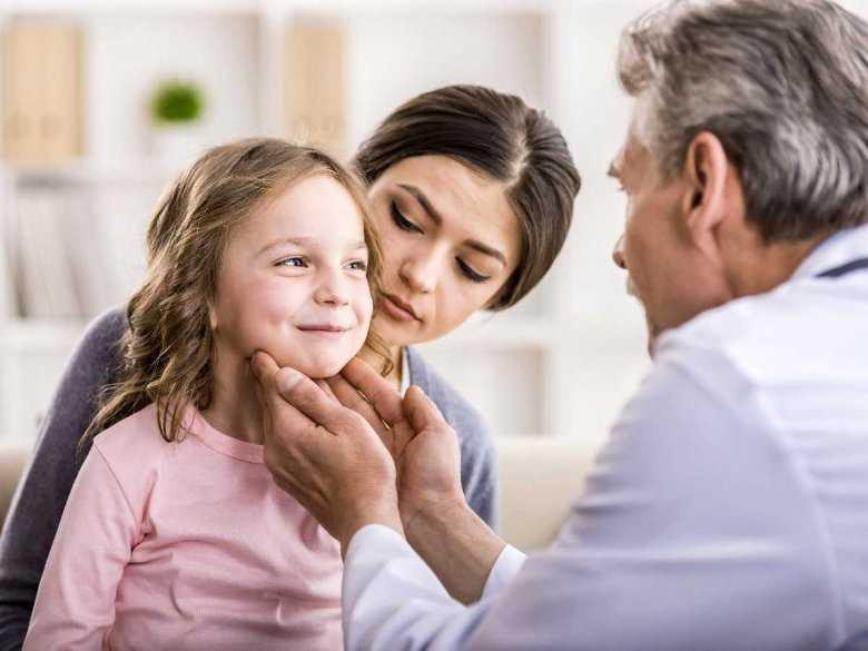 Badanie migdałków u dzieci