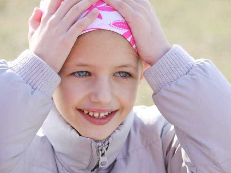 Dziecko chore na nowotwór, białaczka