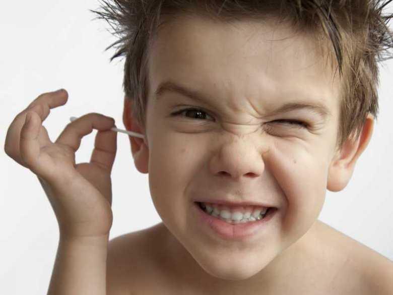 Płukanie uszu u dziecka