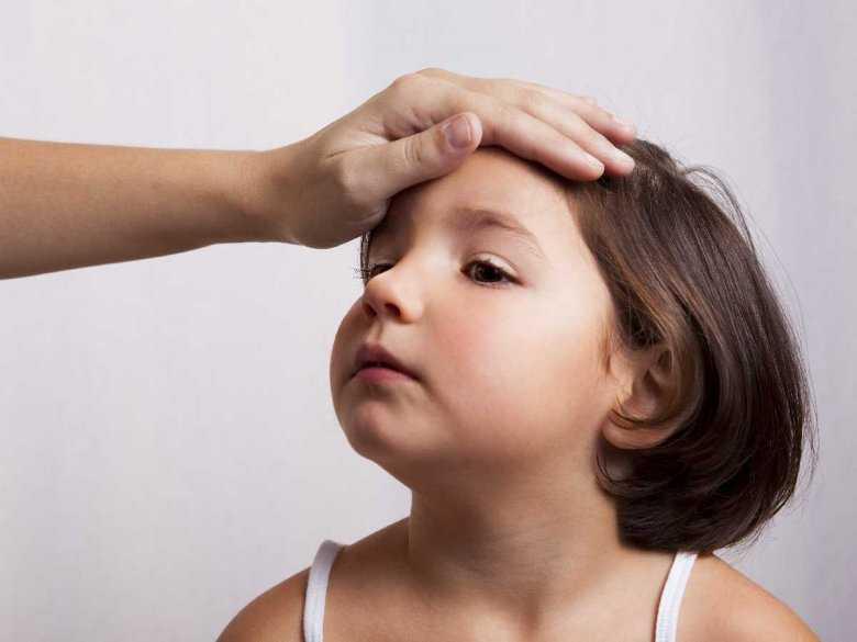 Dziecko gorączkujące
