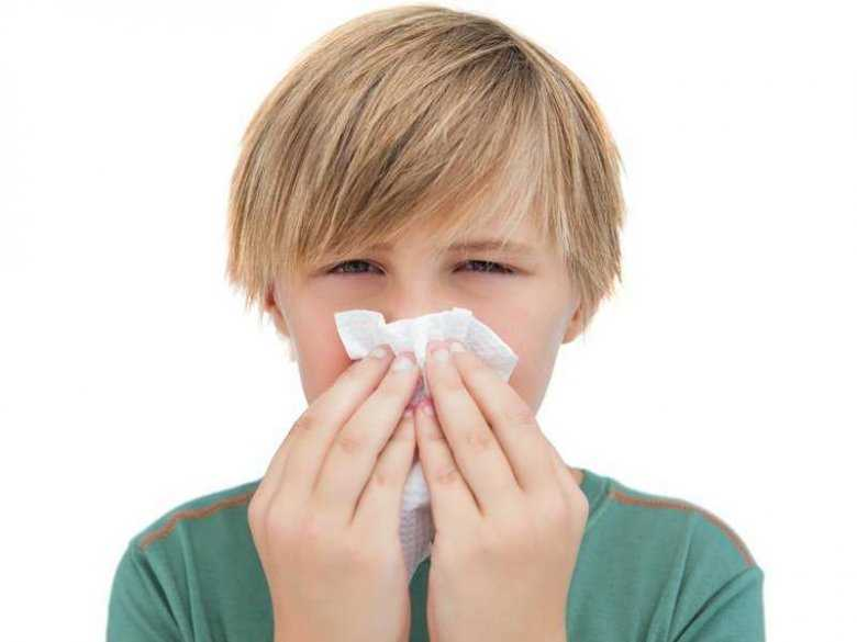 Dziecko cierpiące na chore zatoki
