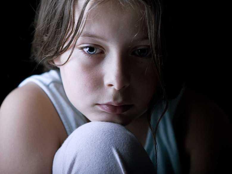 Dziecko chorujące na depresję
