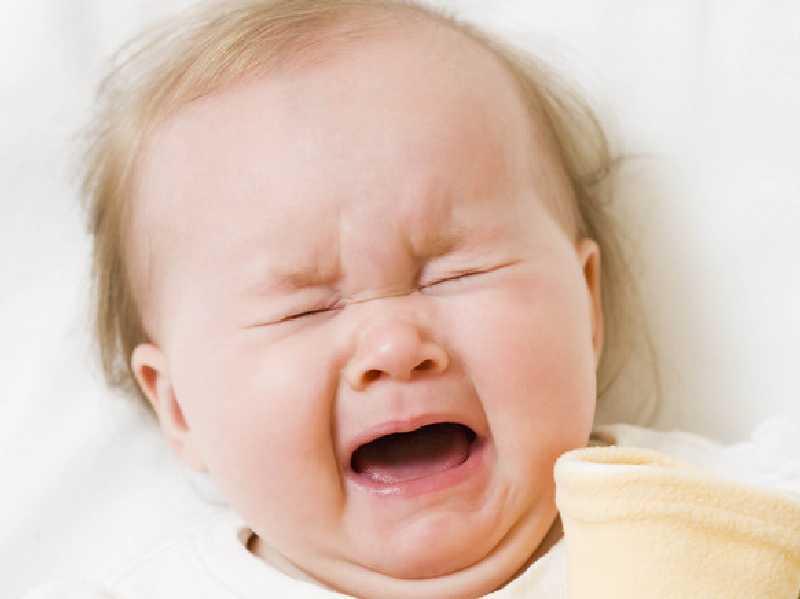 Płaczu u dziecka