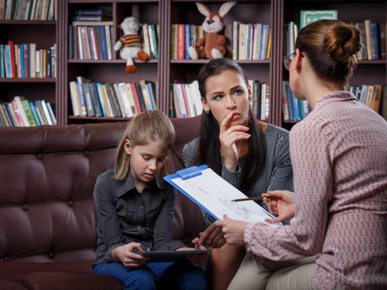 Wizyta z dzieckiem u psychologa
