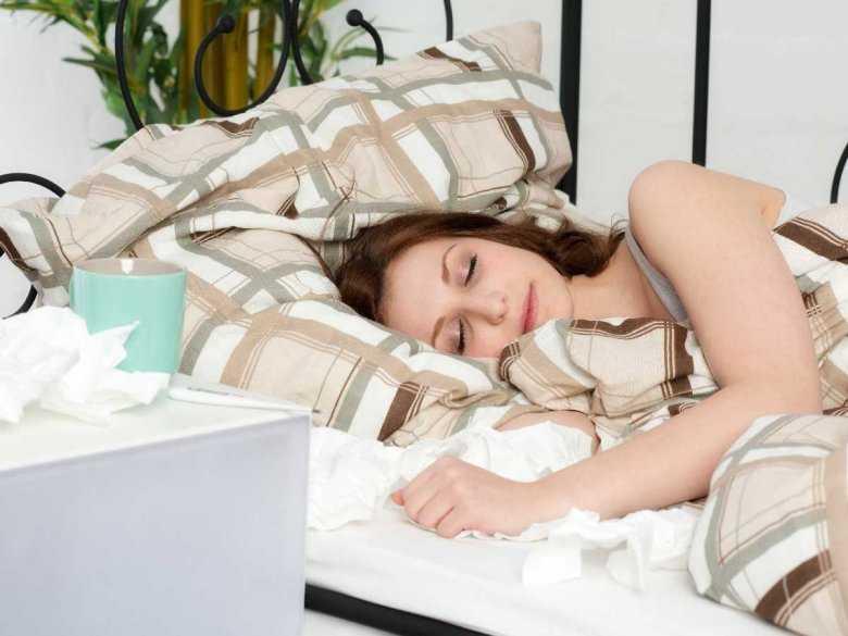 Ponad połowa amerykanek spi niewystarczająco