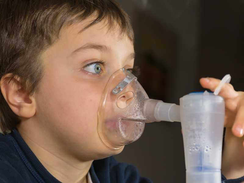 Inhalacje u dziecka