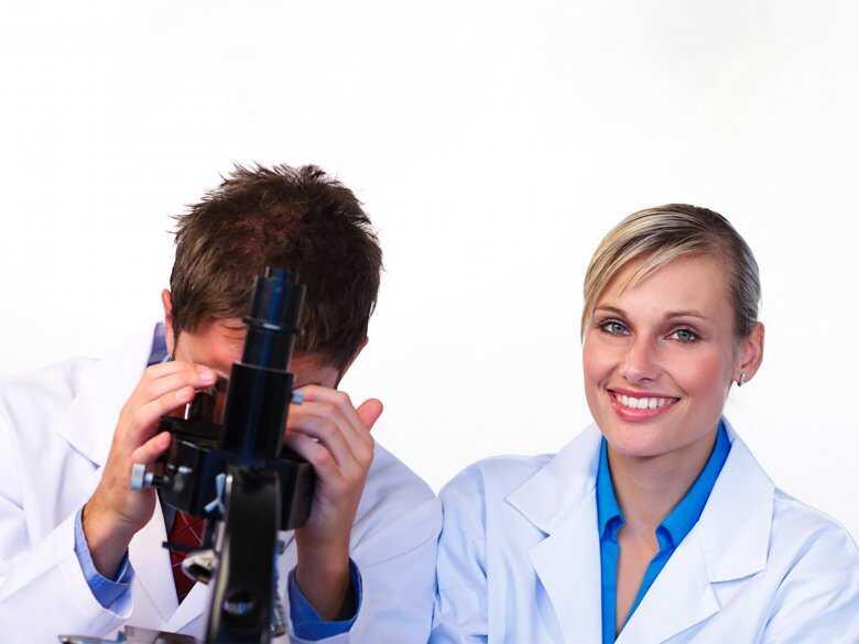 Badania próbek pod mikroskopem