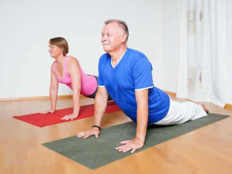 Osoby starsze uprawiające sport