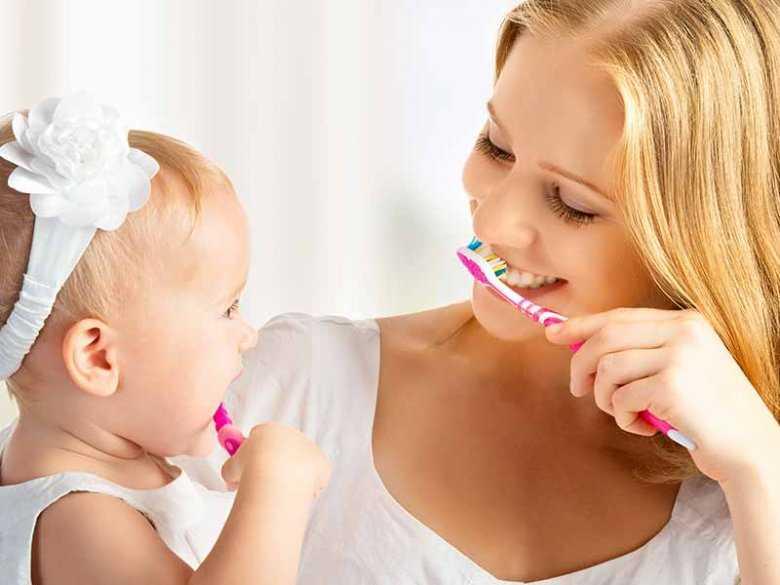 Czy zęby mleczne trzeba myć?