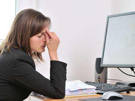 Praca przy komputerze w czasie ciąży