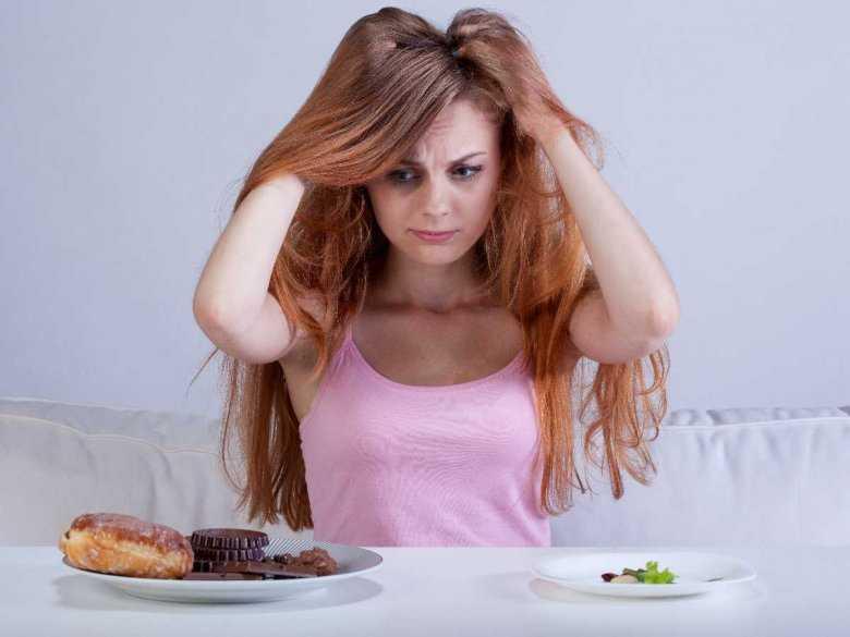 Umiarkowana dieta a groźba objadania się
