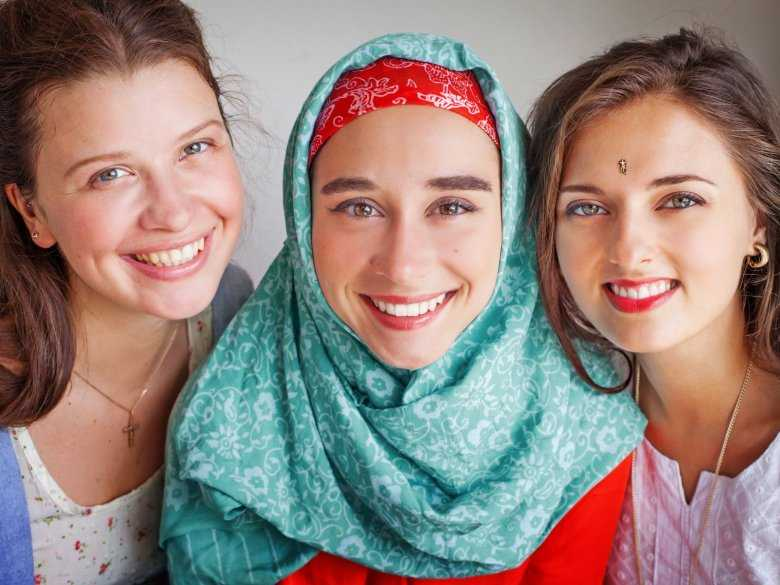 Kobiety z różnych kultur