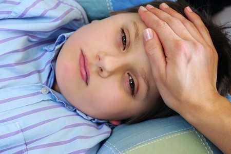 Ospa wietrzna - kontakt z osobą chorą