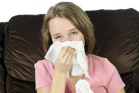 Katar, przeziębienie u dziecka