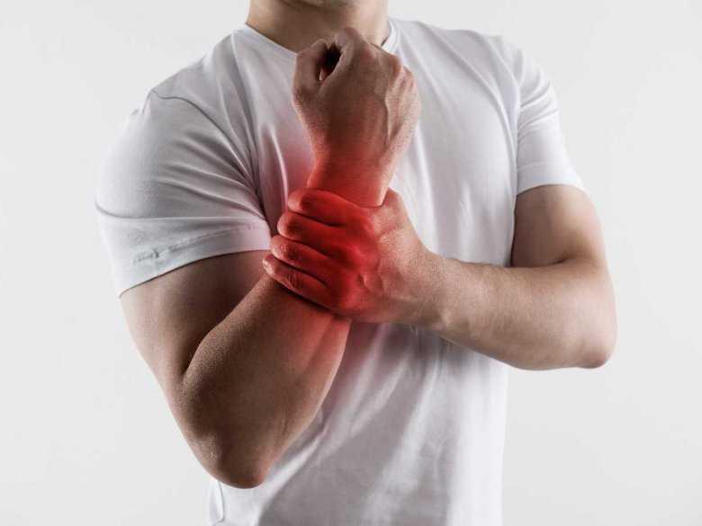 Ból mięśni przedramienia