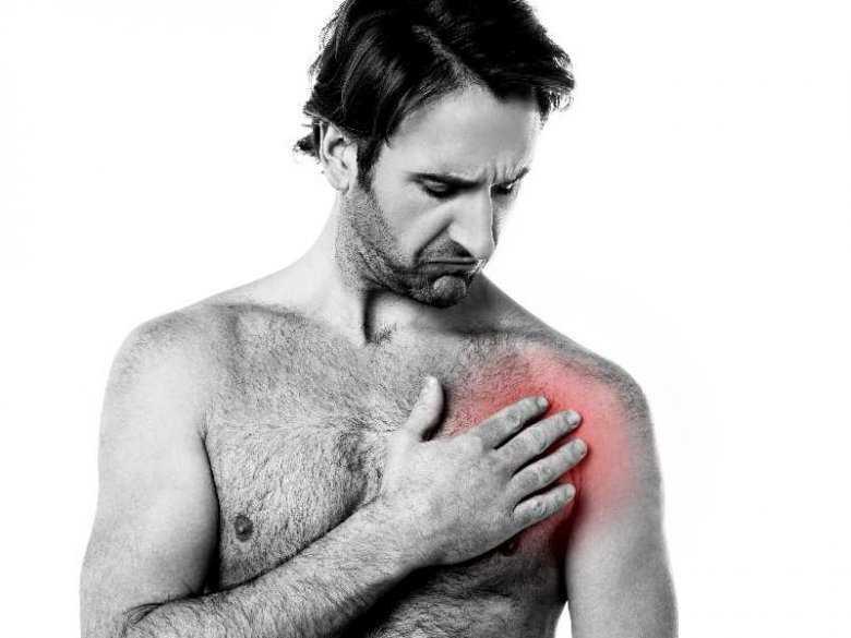 Ból w klatce piersiowej u mężczyzn, zawał serca