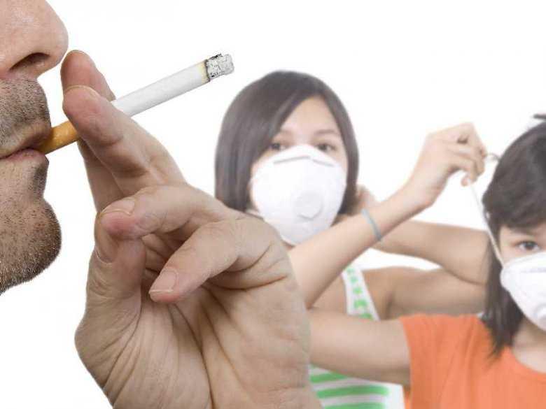 Narażenie na bierne palenie tytoniu dzieci do 3 roku życia