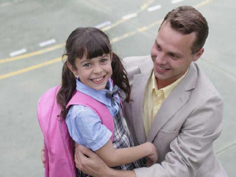 Odbieranie dziecka ze szkoły