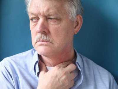 Częste zapalenie gardła objawem nowotworu