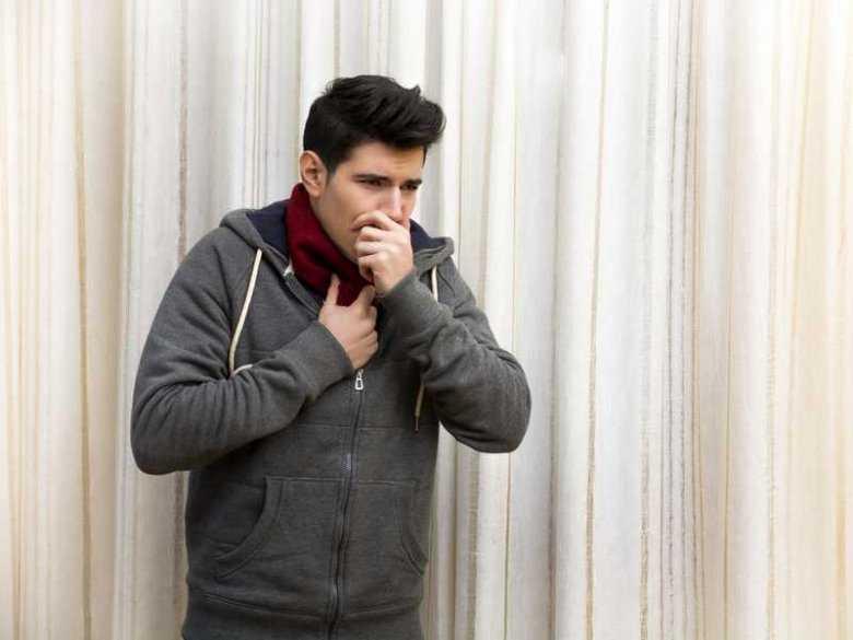 Przeziębienie u mężczyzn